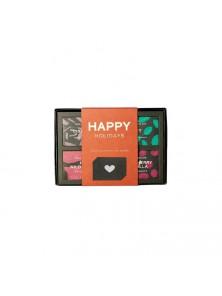 CAJA REGALO CHOCOLATE RAW HAPPY HOLIDAYS 4 X 45GR BIO - PANA CHOCOLATE - 9346758000352