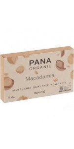 TABLETA CHOCOLATE BLANCO MACADAMIA 45GR BIO - PANA CHOCOLATE - 9346758000871