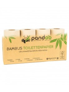 PAPEL HIGIENICO BAMBU 8 ROLLOS - PANDOO