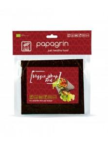 RED VEGGIE WRAP 100GR BIO - PAPAGRIN - 5903240250806