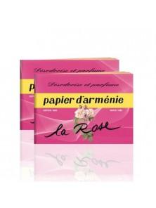 PAPEL ARMENIA AMBIENTAL ROSAS 12 UNIDADES - PAPIER D' ARMENIE PARIS - 3401596152529