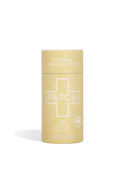 TIRITAS BIODEGRADABLE DE BAMBU NATURAL 25 UNIDADES - PATCH - 9351347000002 - 9351347000095