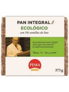 PAN CENTENO 5% SEMILLAS LINO 375GR BIO - PEMA - 4000358012973