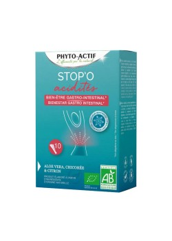 STOP ACIDEZ 10 STICKS - PHYTO ACTIF - 3700067372061