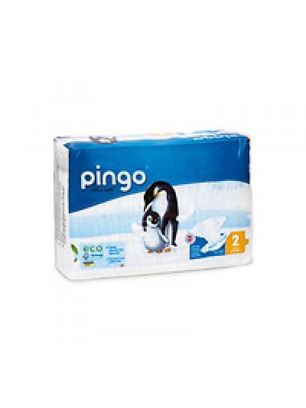 PAÑALES T2 3-6KG 42 UNIDADES BIO - PINGO - 7640118230024