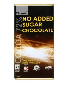 CHOCOLATE 72% SIN AZUCAR 100GR BIO - PLAMIL - 5013092120513
