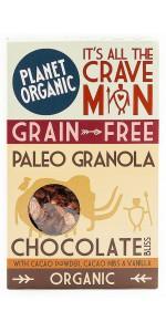 GRANOLA SUBIDON DE CHOCOLATE 350GR BIO - PLANET ORGANIC - 5060401050627