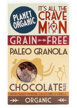 **GRANOLA SUBIDON DE CHOCOLATE 350GR BIO - PLANET ORGANIC - 5060401050627