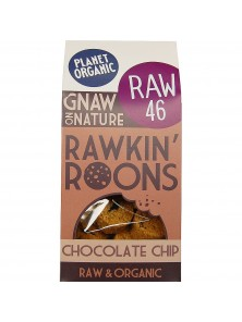 MACARRONES DE PEPITAS DE CHOCOLATE RAW 90GR BIO - PLANET ORGANIC - 5060401050689