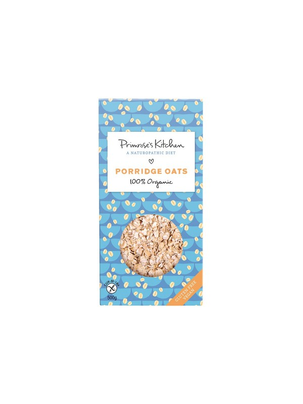 PORRIDGE OATS 500GR - PRIMROSE'S KITCHEN A NATUROPATHIC DIET