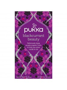INFUSION BLACKCURRANT BEAUTY 20 BOLSITAS BIO - PUKKA - 5060229013873