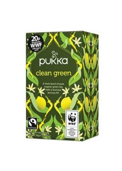 INFUSIÓN CLEAN GREEN 20 BOLSITAS - PUKKA - 5060229012067