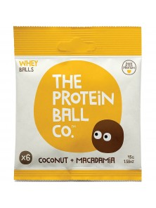 BOLITAS DE PROTEINA MACADAMIA + COCO 45GR - THE PROTEIN BALL CO - 813047020036