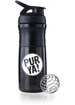 SHAKER BATIDOS COLOR NEGRO 828ML - PUR YA! - 847280018963