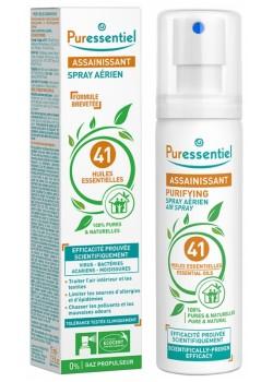 SPRAY AEREO PURIFICANTE 41 ACEITES ESENCIALES 75ML - PURESSENTIEL - 3401351625466