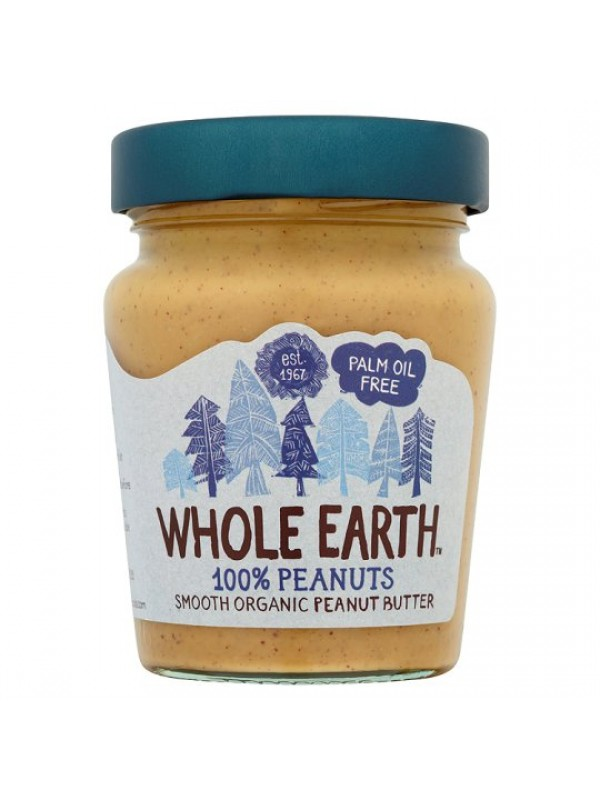 CREMA DE CACAHUETES SMOOTH 227GR BIO - WHOLE EARTH - 5013665114857