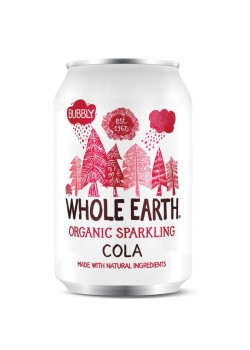 REFRESCO DE COLA BIO SIN AZUCAR 300ML - WHOLE EARTH - 5011835101782