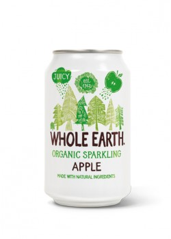 REFRESCO DE MANZANA 330ML BIO - WHOLE EARTH - 5013665112136