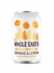 REFRESCO DE NARANJA Y LIMON 330ML BIO - WHOLE EARTH - 5013665112150