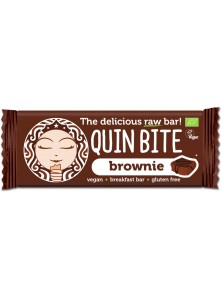 BARRITA BROWNIE 30GR BIO - QUIN BITE - 3800232730419