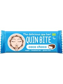 BARRITA COCO CHOCOLATE 30GR BIO - QUIN BITE - 3800232731997