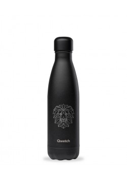 BOTELLA ISOTERMICA INOXIDABLE ALL BLACK LION 500ML - QWETCH - 3700735935031