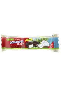 BARRITA DE COCO CUBIERTA DE CHOCOLATE NEGRO 50GR BIO - RAPUNZEL - 4006040056829
