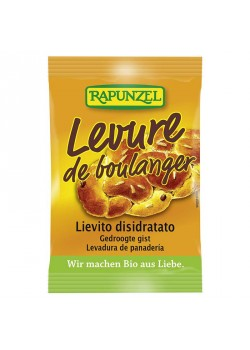 LEVADURA SECA 9GR BIO - RAPUNZEL - 4006040013815