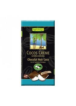TABLETA CHOCOLATE RELLENA DE COCO 100GR BIO - RAPUNZEL - 4006040294009