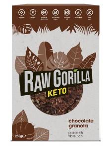 GRANOLA KETO DE CACAO 250GR BIO - RAW GORILLA - 745760258116