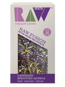 CHOCOLATE RAW FUSION LAVANDA 30GR BIO - RAW HEALTH - 5032722315327