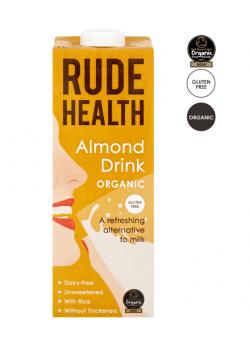 "BEBIDA DE ALMENDRA ARROZ ""ALMOND DRINK"" 1L BIO - RUDE HEALTH - 5060120282019"