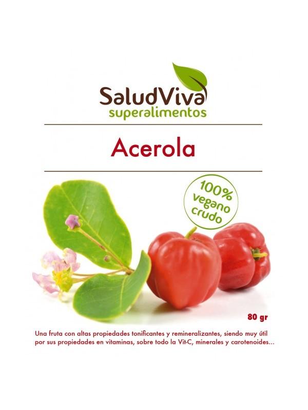 ACEROLA EN POLVO 80GR BIO - SALUD VIVA - 0012870000004