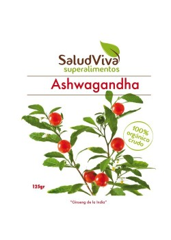ASHWAGANDA 125GR BIO - SALUD VIVA - 0013350000002