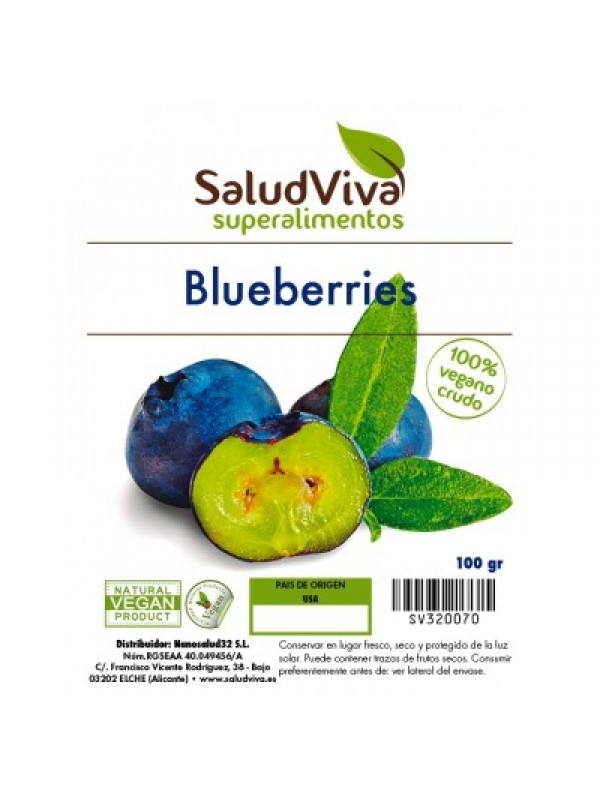 BLUEBERRIES 100GR BIO - SALUD VIVA - 0001380000000