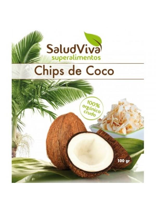 CHIPS DE COCO 100GR BIO - SALUD VIVA - 0013780000009