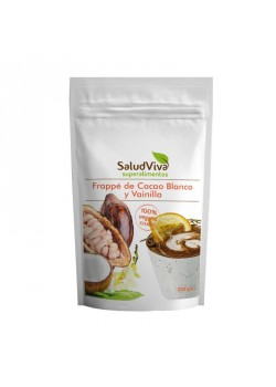 FRAPPE DE CACAO BLANCO Y VAINILLA 320GR - SALUD VIVA - 018950000001