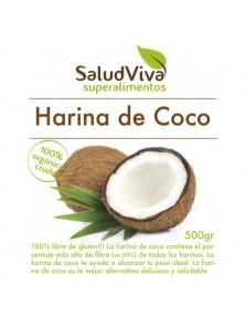 HARINA DE COCO 500GRS BIO - SALUD VIVA - 001430000004