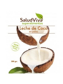 LECHE DE COCO EN POLVO 200GR BIO - SALUD VIVA - 0013310000004