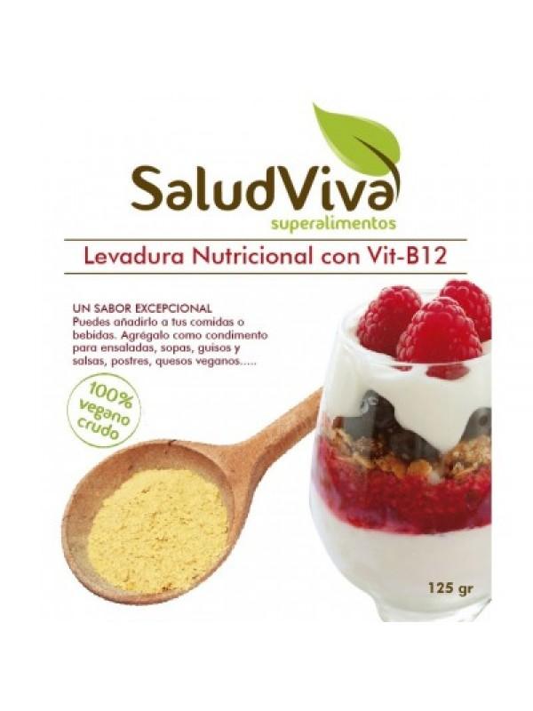 LEVADURA NUTRICIONAL CON B12 BIO 125GR - SALUD VIVA - 014050000002