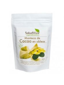 MANTECA DE CACAO EN OBLEAS 250GR BIO - SALUD VIVA - 001150000001