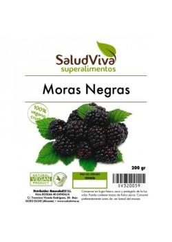 MORAS NEGRAS 140GR BIO - SALUD VIVA - 0003210000006