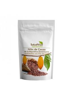 NIBS DE CACAO ENDULZADOS CON NECTAR FLOR DE COCO 150GR BIO - SALUD VIVA - 022220000004