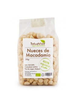 NUECES DE MACADAMIA 200GRS BIO - SALUD VIVA - 001080000003