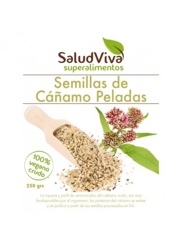 SEMILLAS DE CAÑAMO PELADAS 250GR BIO - SALUD VIVA - 0000740000001