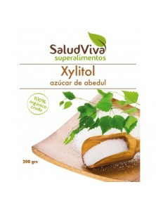 XYLITOL AZUCAR DE ABEDUL  200GR BIO - SALUD VIVA