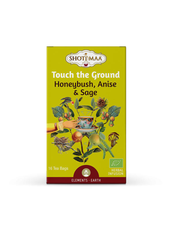 INFUSION ELEMENT TOUCH THE GROUND HONEYBUSH ANIS Y SALVIA 16 BOLSITAS