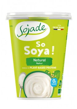 YOGUR SOJA NATURAL BIO 400GR - SOJADE - 3273227081023
