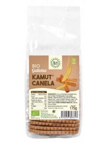 GALLETAS DE KAMUT® CON CANELA BIO 175GR - SOL NATURAL - 8435037803317