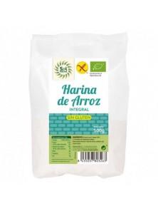HARINA DE ARROZ INTEGRAL 500GR SIN GLUTEN BIO - SOL NATURAL - 8435037803263